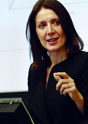 A Deft Touch for Capital Markets Good and Bad: Ruth Porat, WG'87