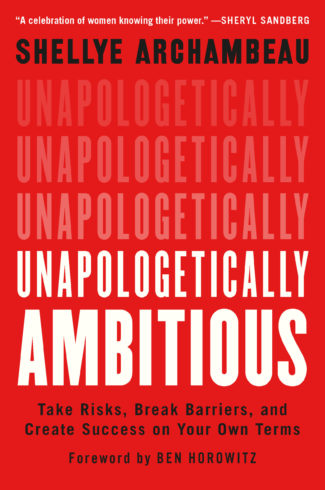 Book titled Unapologetically Ambitious